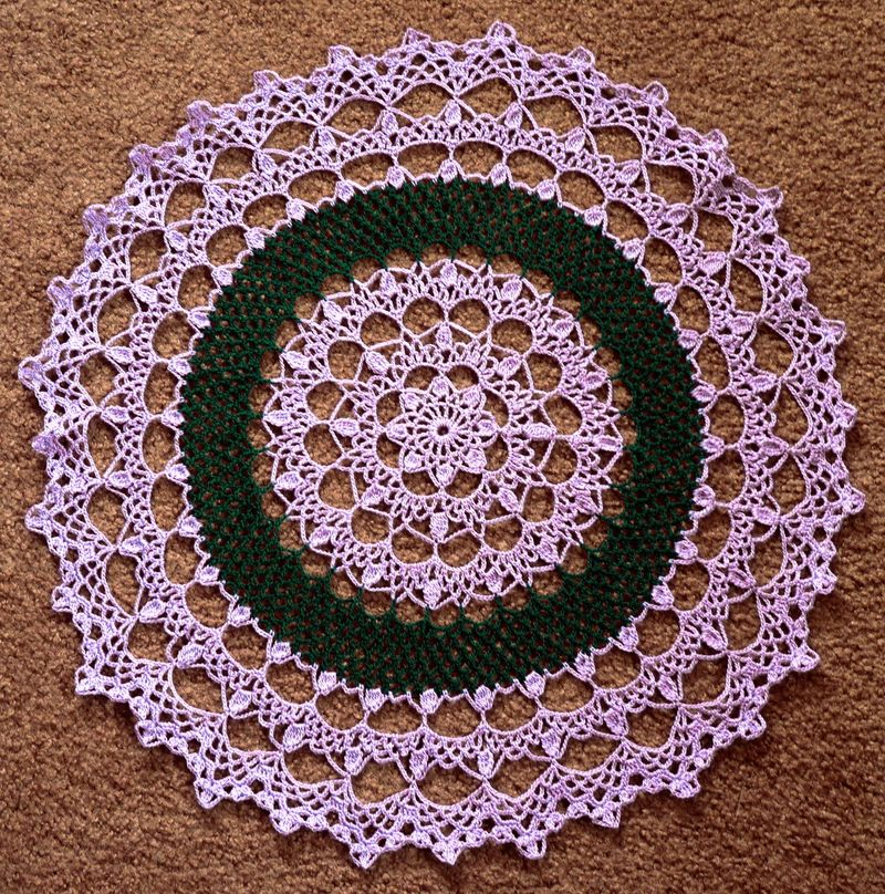 Purplegreendoily