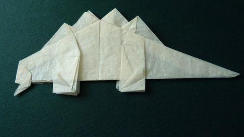 Origamistegosaurus